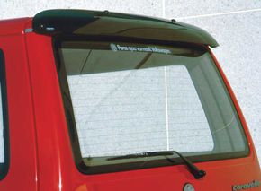 VW T4, REAR WINDOW DEFLECTOR