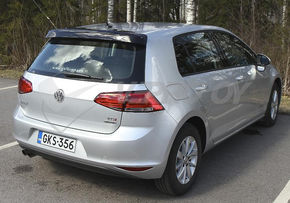 VW Golf V / VI / VII, REAR WINDOW DEFLECTOR