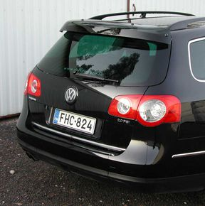 VW Passat Variant 2005-2010/2011-2014, REAR WINDOW DEFLECTOR