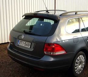 VW Golf V Variant / VI Variant, REAR WINDOW DEFLECTOR