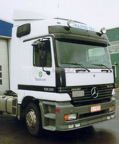 MB Actros MP1 Euro cab/Mega Space 01/1998-, SUN VISOR