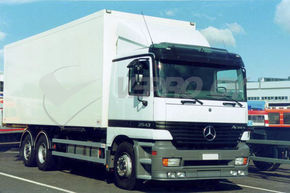 MB Actros MP1, SUN VISOR