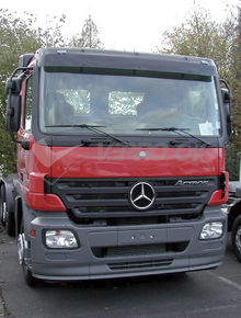 MB Actros MP2 Standard roof, SUN VISOR