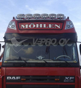 DAF XF105/106 SUPER SPACE CAB 80mm, SUNVISOR