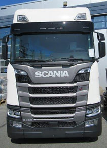 SCANIA 2017- S/R/G SUN VISOR with 5 marker lights