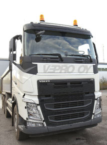 VOLVO FH Vers 4, ADVERTISING PLATE FOR FRONTGRILL