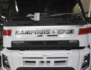 VOLVO FM/FMX Vers 4, ADVERTISING PLATE FOR FRONTGRILL