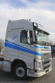 VOLVO FH VERS 4 GLOBETROTTER XL TRACTOR UNIT, SPOILER TOP CORNER PARTS