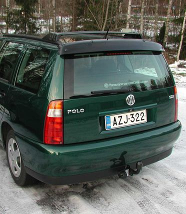 Seat Cordoba Vario/VW Polo Variant 1997-, REAR WINDOW DEFLECTOR