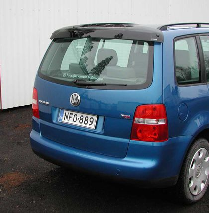 VW Touran -09/2010, REAR WINDOW DEFLECTOR