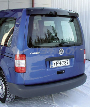 VW Caddy/Kombi 2004-/Maxi 2008, REAR WINDOW DEFLECTOR