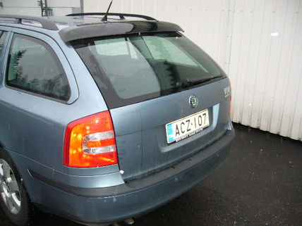 Skoda Octavia Combi 2005-2013, REAR WINDOW DEFLECTOR