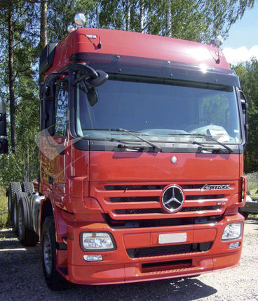 MB Actros MP2 Euro cab/Mega Space, SUN VISOR
