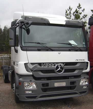 MB ACTROS MP3 STANDARD ROOF, SUN VISOR