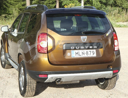 Dacia Duster, REAR WINDOW DEFLECTOR