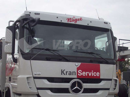 MB ACTROS MP3 STANDARD ROOF SPECIAL MODEL, ACRYLIC PART